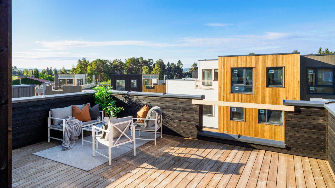 Illustrasjonsfoto terrassemiljø for boliger med loftsetasje-1