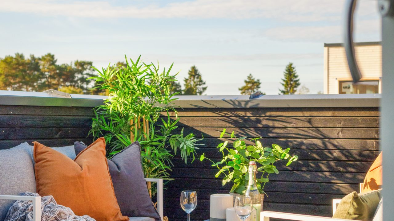 Illustrasjonsfoto terrassemiljø for boliger med loftsetasje (3)